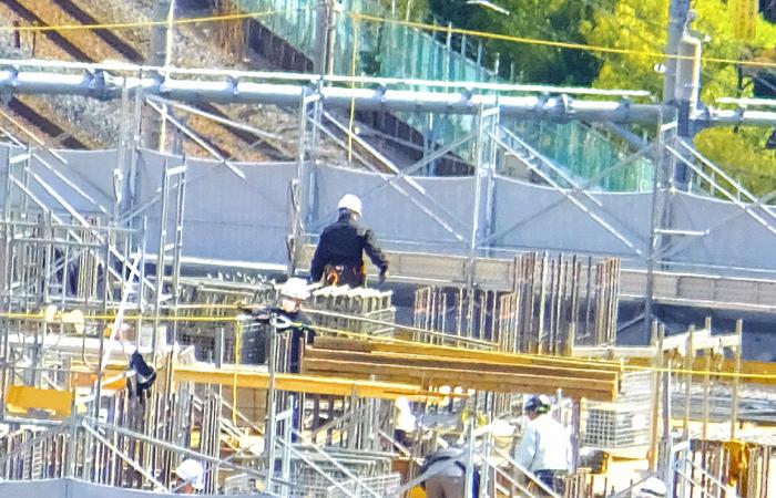 建設業と外国人労働者